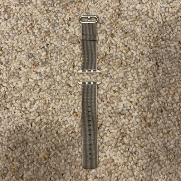 38mm large woven nylon Apple Watch band
